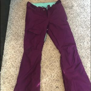 North Face HyVent Freedom Insulated Ski/Snow pants